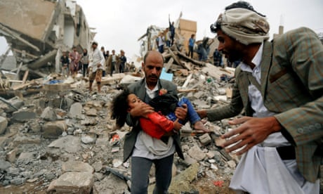 US-made bomb killed civilians in Yemen residential building, says Amnesty
