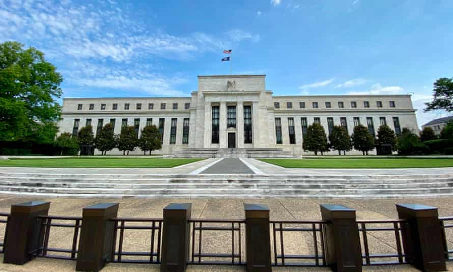 Federal Reserve Board building, Washington DC.
