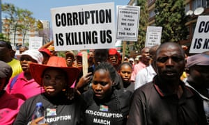 Anti-corruption protests in South Africa