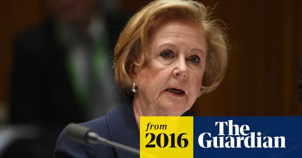 9e1fe90c3 Coalition MPs attack Gillian Triggs over allegations she misled Senate  committee