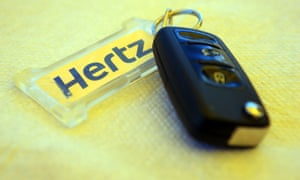 Warning sign … Hertz paid my penalty charge so I couldn't appeal.