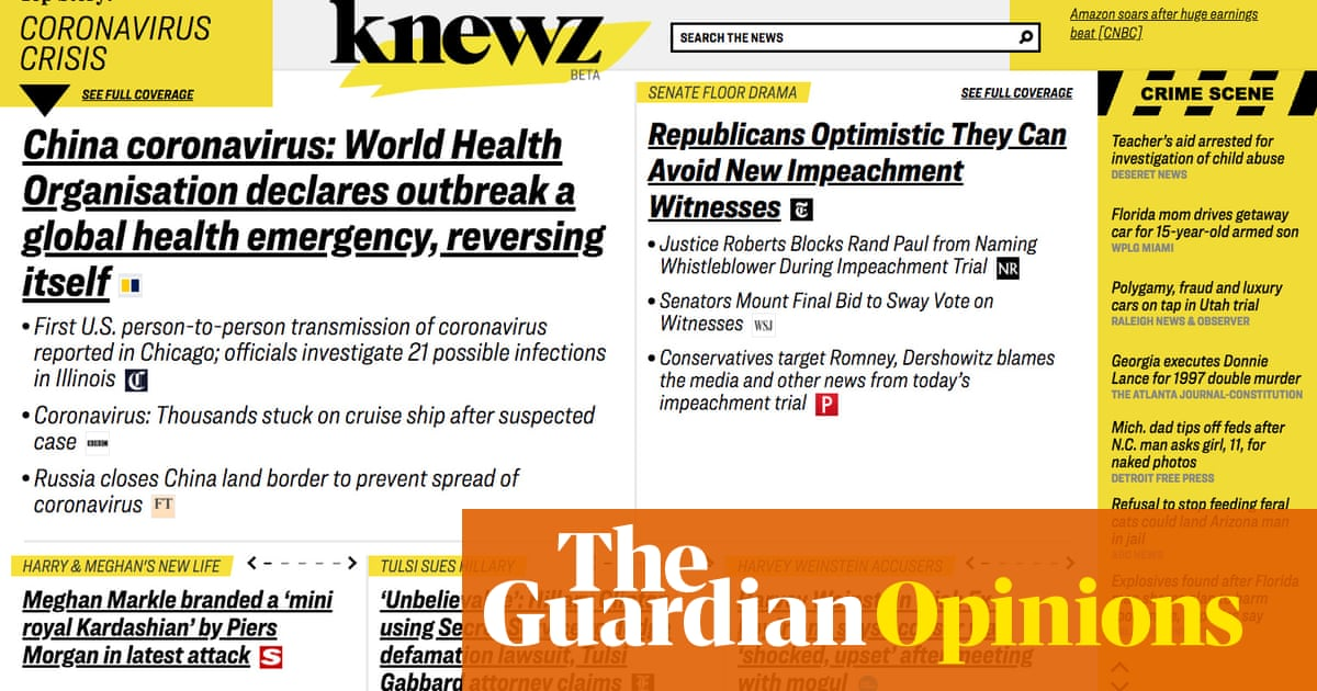 'It's making my eyes bleed': News Corps Knewz on the nose | Weekly Beast
