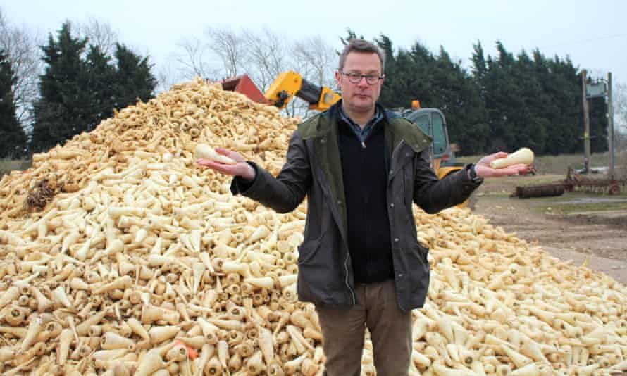 Hugh Fearnley-Whittingstall gave away imperfect parsnips