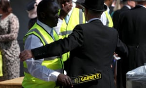 The security at Ascot's Royal meeting last year.