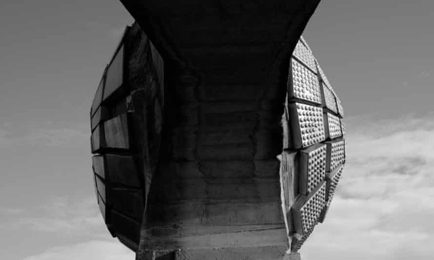 One of the brutalist monuments in former Yugoslavia that feature in Last and First Men.
