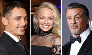 Don't give up the day job ... James Franco, Pamela Anderson and Sylvester Stallone.