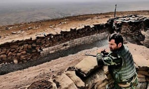 Taking the fight to Isis ... Peshmerga