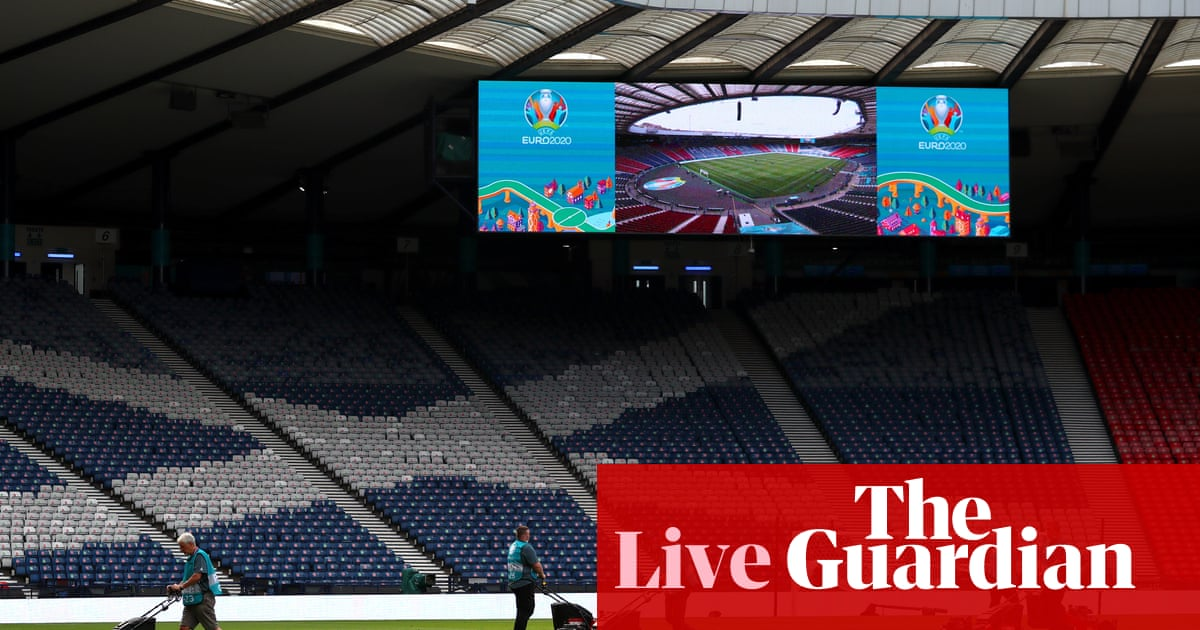 Euro 2020 day 4: Scotland's moment arrives after England and Netherlands win – live!