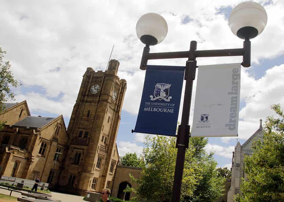 Generic photos of Melbourne University in Melbourne.
