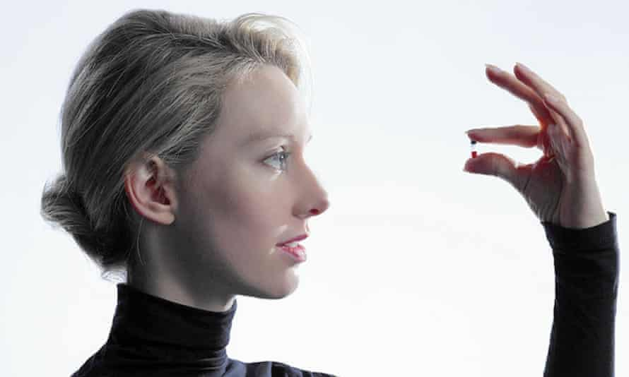 'As dangerous as it was chaotic' Theranos founder Elizabeth Holmes.