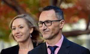 Larissa Waters and Richard Di Natale