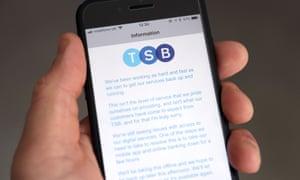 TSB app on phone