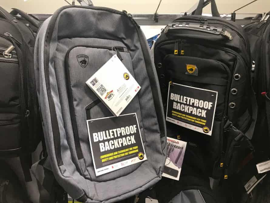 Guard Dog Security, TuffyPacks and Bulletblocker are creating bullet-resistant backpacks for the back-to-school shopping season.