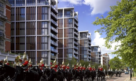 The One Hyde Park development in London