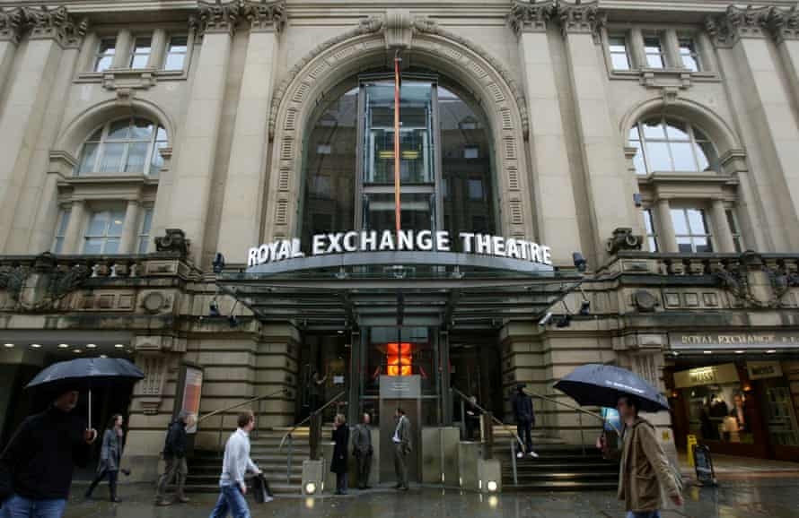 The most important thing is to be investing in work that is dynamic and relevant' ... the Royal Exchange, Manchester.