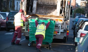 Waste disposal companies have experienced the impact of the rise in homelessness.