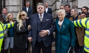 Andrea Riseborough, Robbie Coltrane and Julie Walters  in Jack Thorne's National Treasure: 'sheer quality'.