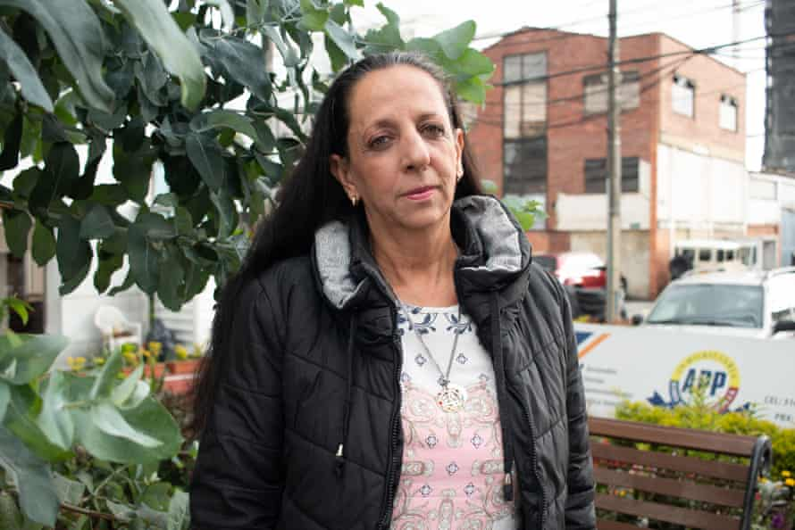 Angela María Escobar was raped in 2000. She now runs a foundation to support other survivors of sexual violence
