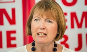 Labour's former deputy leader Harriet Harman has pledged to boycott any speech by Donald Trump to the Houses of Parliament.