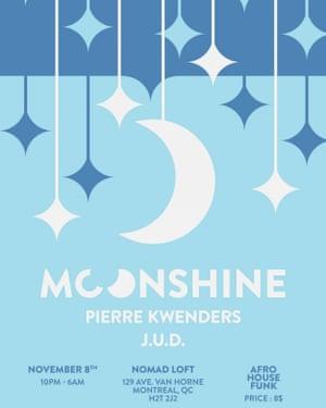 A Moonshine flyer.