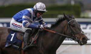 Bryony Frost rides Frodon to victory at last year's Cheltenham Trials meeting.
