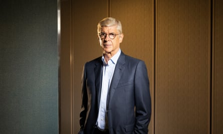 Arsène Wenger photographed last month by Ed Alcock for the Observer New Review.