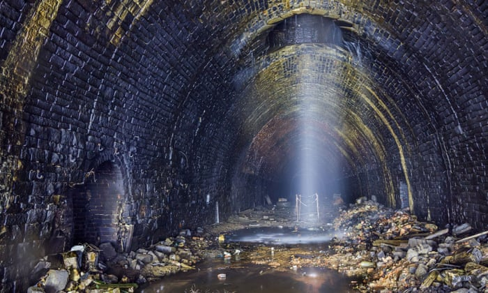 Campaigners say it would cost as much to make the Queensbury tunnel a cycle route as it would to permanently shut it. Photograph: Forgotten Relics