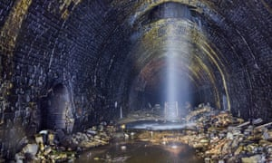 The Queensbury tunnel as it is today.