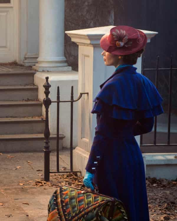 Mary Poppins, played by Emily Blunt, will return to the Banks home.