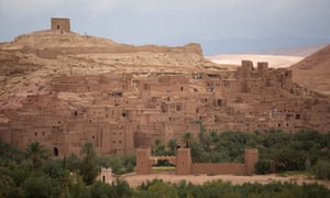 Ait-Ben-Haddou, in Ouarzazate province