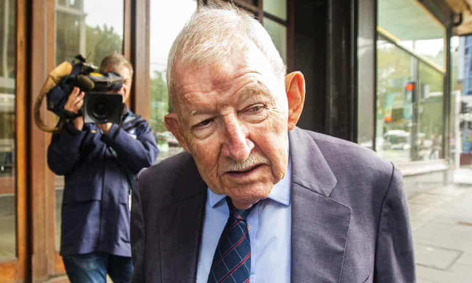Former corporate raider Ron Brierley has been jailed  for 14 months with a non-parole period of seven months for possessing child abuse material.