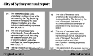 Council's annual report