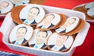 Caramel waffles with Matt Hancock's face on Good Morning Britain, May 2019
