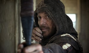 Bow selecta: Michael Fassbender in Assassin's Creed.