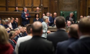 Theresa May makes a statement on Brexit to the House of Commons