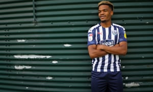 Grady Diangana in his West Brom kit