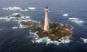 'The noblest of all deep sea lights': 19th-century Skerryvore Lighthouse.