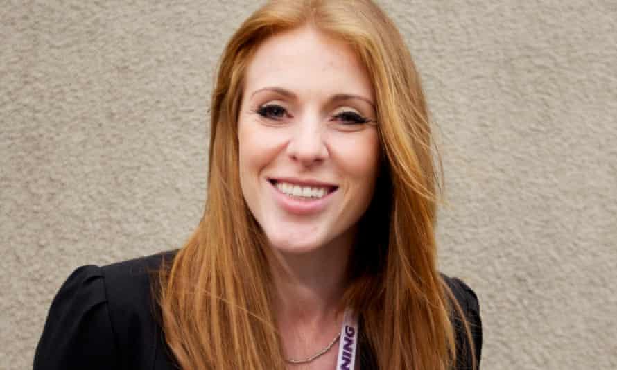 The shadow education secretary, Angela Rayner