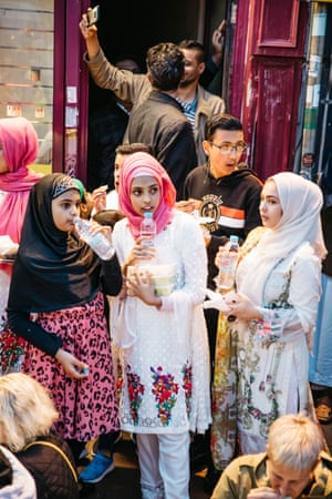 Young attendees of the Grand Bristol Iftar.