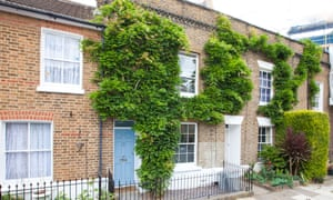 Victorian cottages in west London, which may have had the asking price of £1m in 2015.