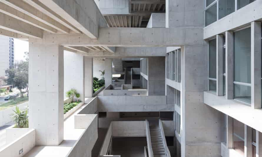 'Spaces inbetween' … the Universidad de Ingenieria y Tecnologia (UTEC), in Lima, by Grafton Architects – led by Yvonne Farrell and Shelley McNamara.