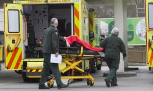 A patient is admitted to hospital in London