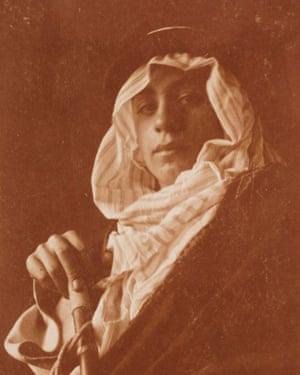 Kahlil Gibran in about 1898