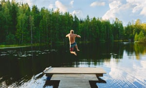 Lake Vuohijarvi, Finland