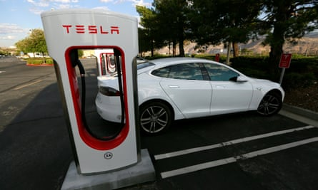 The Tesla Model S has a range of more than 300 miles.