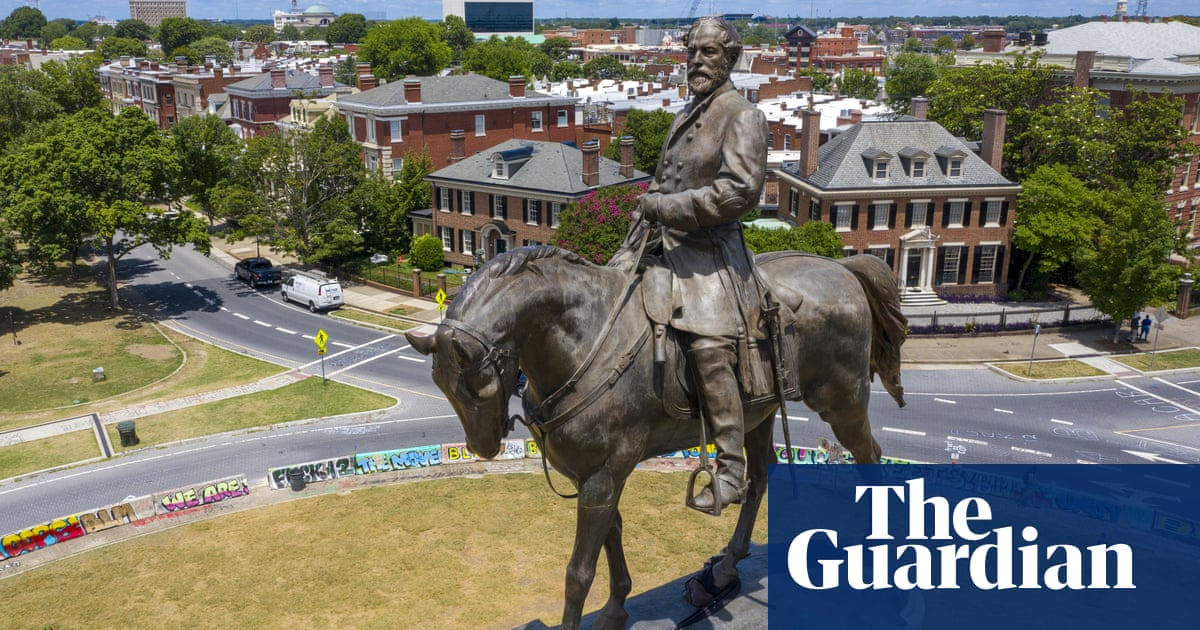 Virginia supreme court to hear cases challenging removal of Confederate statue