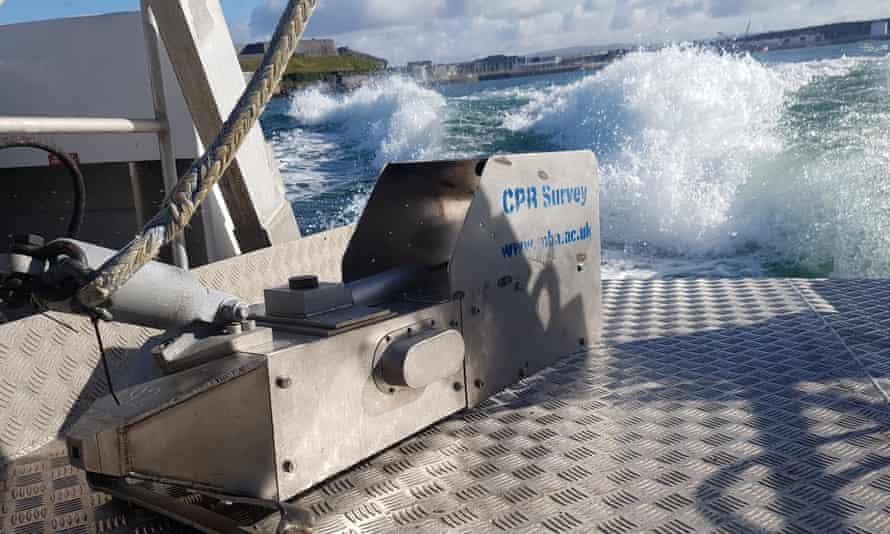 continuous plankton recorder