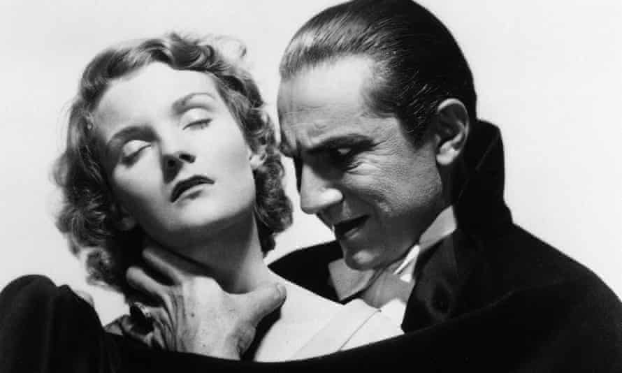 Bela Lugosi might be dead, but his vampire style lives on forever. Here he is pictured about to bite Helen Chandler.