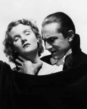 Carnal … Bela Lugosi as the count, with Helen Chandler.