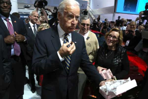 Joe Biden enjoyed many treats while he was on the trail, from fudge to ice cream.